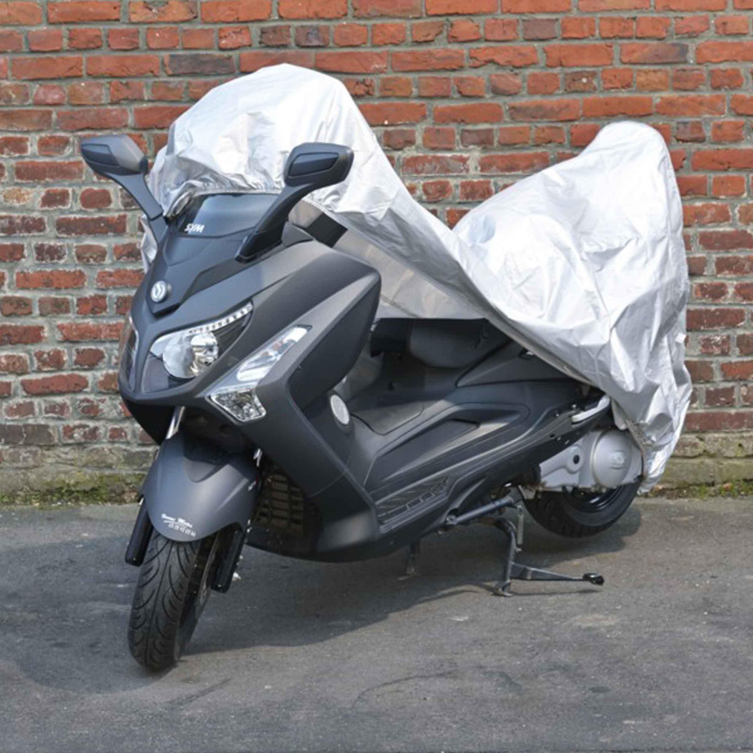 Bâche grise imperméable pour scooter